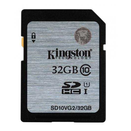 KINGSTON 32GB SDHC Class10 UHS-I - Muistikortit - 740617243468 - 1