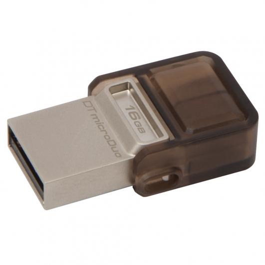 Kingston 16GB USB DataTraveler OTG Micro DUO Memory Stick Flash Drive Adapter
