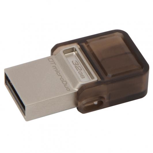 Kingston 32GB USB DataTraveler OTG Micro DUO Memory Stick Flash Drive Adapter