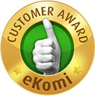 eKomi gold Seal of Approval
