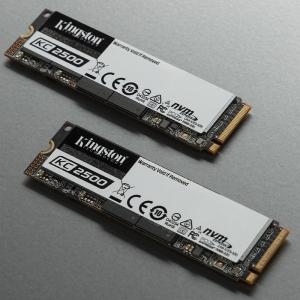Kingston Launch KC2500 M.2 NVMe SSDs