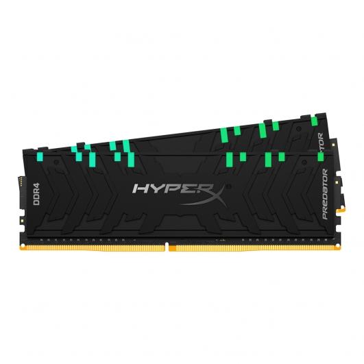 HyperX Predator RGB HX430C16PB3AK2/64 64GB (32GB x2) DDR4 3000Mhz Non ECC Memory RAM DIMM