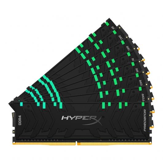 HyperX Predator RGB HX432C16PB3AK8/256 256GB (32GB x8) DDR4 3200Mhz Non ECC Memory RAM DIMM