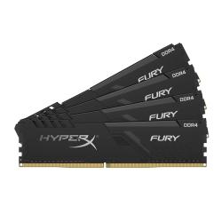 HyperX Fury HX432C16FB3K4/64 64GB (16GB x4) DDR4 3200MHz Non ECC Memory RAM DIMM