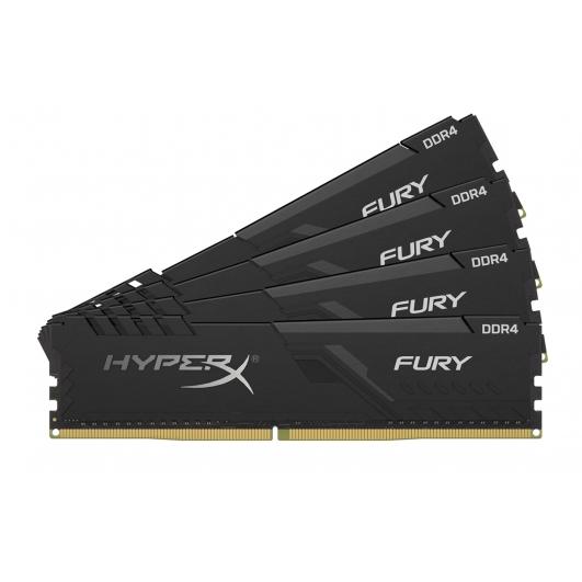 HyperX Fury HX434C16FB3K4/32 32GB (8GB x4) DDR4 3466MHz Non ECC Memory RAM DIMM