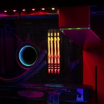 HyperX Fury RGB HX434C17FB4A/16 16GB DDR4 3466MHz Non ECC Memory RAM DIMM