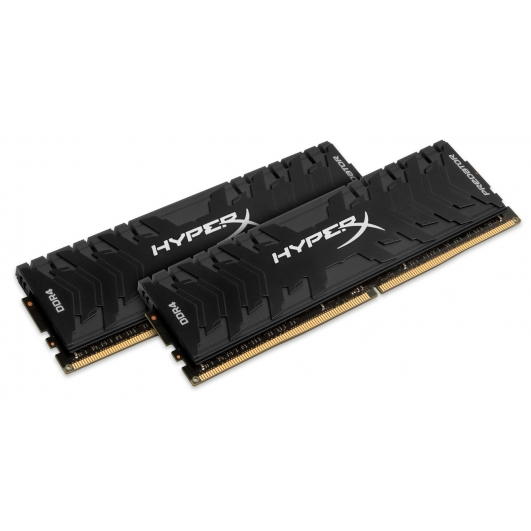 HyperX Predator HX424C12PB3K2/16 Black 16GB (8GB x2) DDR4 2400Mhz Non ECC Memory RAM DIMM