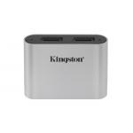 Kingston Workflow Micro SD (SDXC) Card Reader, USB 3.2, Gen1, Type-C