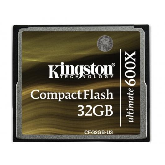 Kingston Ultimate 32GB Compact Flash (CF) Card 600x