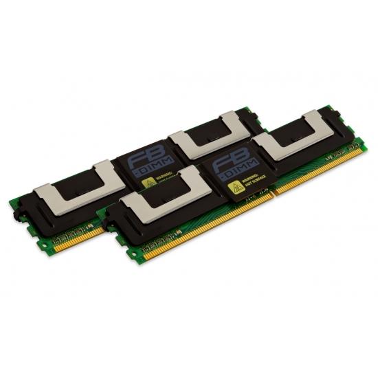 PC2-5300 DDR2-667MHz DIMM Memory Module Kingston KTH-XW667//16GB 16GB 2 x 8GB