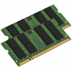 Kingston Apple KTA-MB667K2/4G 4GB (2GB x2) DDR2 667Mhz Non ECC RAM Memory SODIMM