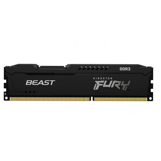 Kingston Fury Beast KF316C10BB/4 4GB DDR3 1600Mhz Non ECC DIMM