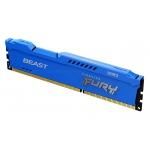 Kingston Fury Beast KF316C10B/4 4GB DDR3 1600Mhz Non ECC DIMM
