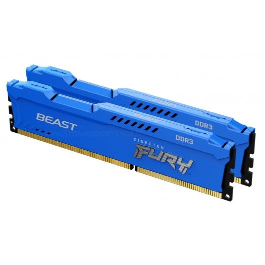 Kingston Fury Beast KF316C10BK2/16 16GB (8GB x2) DDR3 1600Mhz Non ECC DIMM