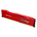 Kingston Fury Beast KF316C10BR/4 4GB DDR3 1600Mhz Non ECC DIMM