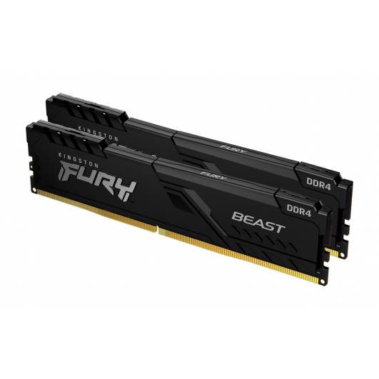Kingston Fury Beast KF437C19BBK2/16 16GB (8GB x2) DDR4 3733Mhz Non ECC DIMM