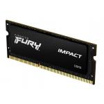 Kingston Fury Impact KF316LS9IBK2/16 16GB (8GB x2) DDR3L 1600Mhz Non ECC Memory RAM SODIMM