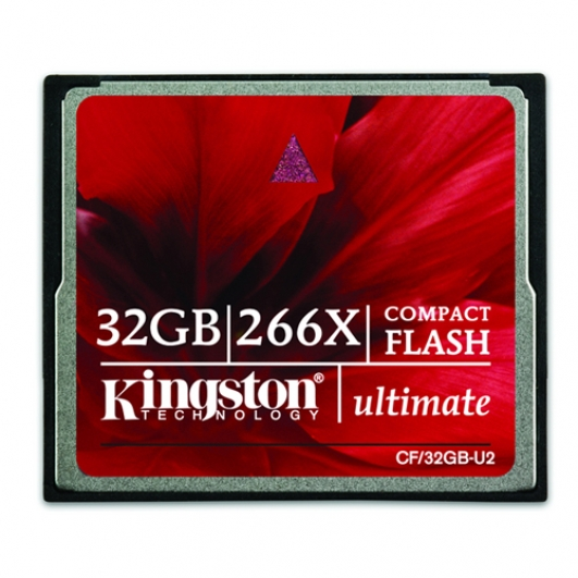 Kingston 32GB Ultimate Compact Flash (CF) Memory Card 266x