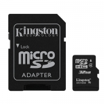 Kingston 32GB Micro SD (SDHC) Card Inc Adapter 4MB/s