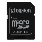 Kingston 64GB Canvas Go Micro SD (SDXC) Card U3, V30, A1, 45MB/s R, 90MB/s W