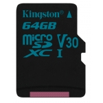 Kingston 64GB Canvas Go Micro SD Card