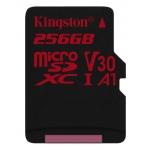 Kingston 256GB Canvas React Micro SD Card