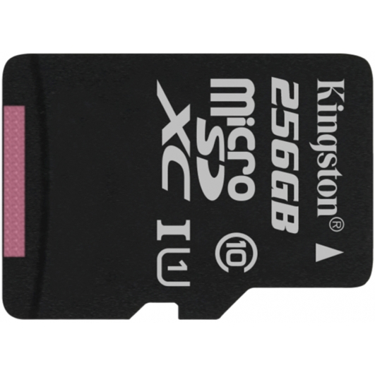 Kingston 256GB Canvas Select Micro SD Card