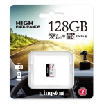 Kingston 128GB High Endurance Micro SD (SDXC) Card U1 A1, 95MB/s R, 45MB/s W