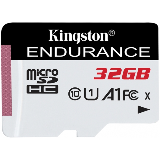 Kingston 32GB High Endurance Micro SD Card U1 A1, 95MB/s R, 30MB/s W
