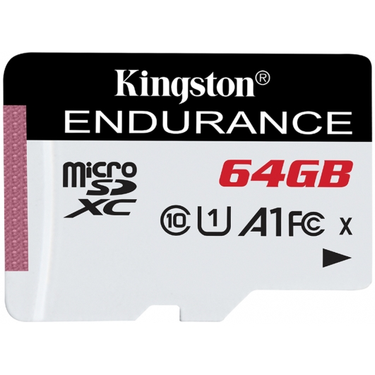 Kingston 64GB High Endurance Micro SD Card - U1, Up To 95MB/s