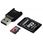 Kingston 256GB Canvas React Plus Micro SD Card - U3, V90, Up To 285MB/s