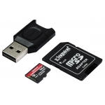 Kingston 64GB Canvas React Plus Micro SD Card - U3, V90, Up To 285MB/s