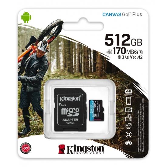 Professional Kingston 512GB for BLU R1 Plus MicroSDXC Card Custom Verified by SanFlash. 80MBs Works with Kingston