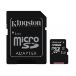 Kingston 128GB Micro SD (SDXC) Card 45MB/s R 10MB/s W