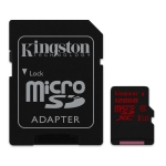 Kingston 128GB microSDXC Memory Card Inc Adapter U3 90MB/s