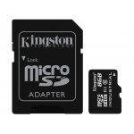 Kingston 8GB Industrial microSDHC (microSD) Memory Card Inc Adapter U1 90MB/s