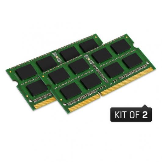 Kingston 16GB (2x 8GB) SODIMM DDR3 1066MHz Laptop Notebook Ram Memory Kit