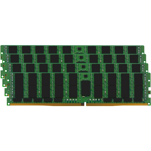 Kingston 128GB DDR4 Kit (32GB x4) 2400MHz ECC Reg RAM Memory DIMM