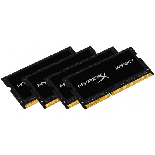 HyperX Impact Black 32GB (8GB x4) Kit DDR3L RAM Memory Non ECC SODIMM 1866Mhz PC3-14900 1.35v