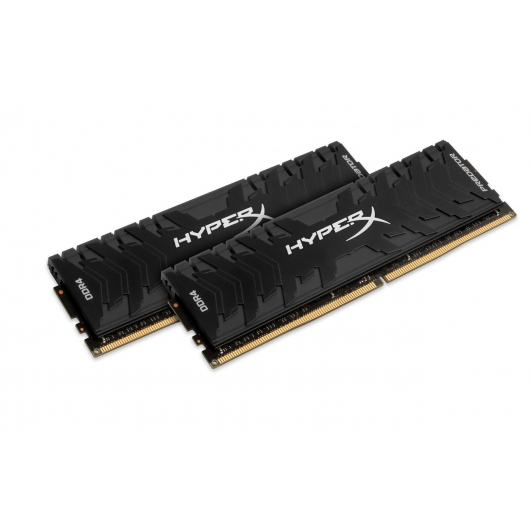 HyperX Predator HX433C16PB3K2/16 Black 16GB (8GB x2) DDR4 3333Mhz Non ECC Memory RAM DIMM