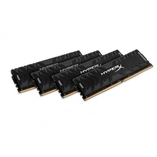 HyperX Predator HX432C16PB3K4/32 Black 8GB (16GB x4) DDR4 3200Mhz Non ECC Memory RAM DIMM
