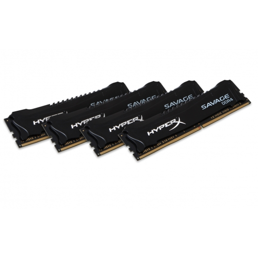 HyperX Savage Black 16GB (4GB x4) DDR4 PC4-17000 2133MHz RAM Memory DIMM