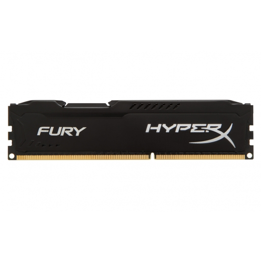 HyperX Fury HX316C10FB/4 Black 4GB DDR3 1600Mhz Non ECC Memory RAM DIMM
