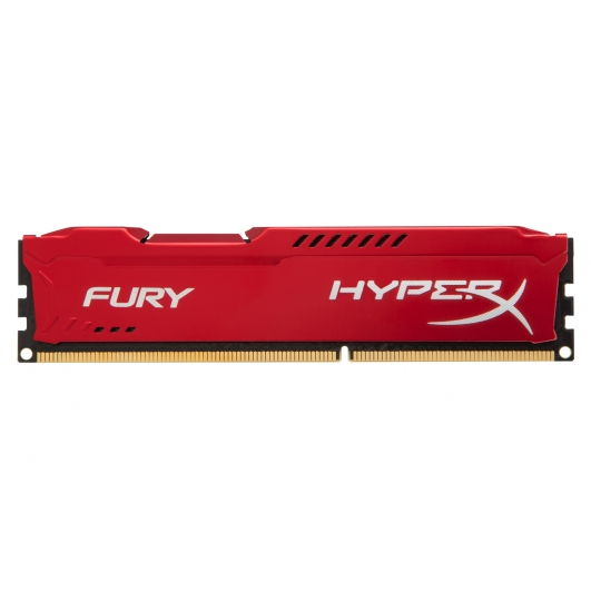 HyperX Fury Red 4GB DDR3 PC3-10600 1333MHz RAM Memory 1.5v CL9 DIMM