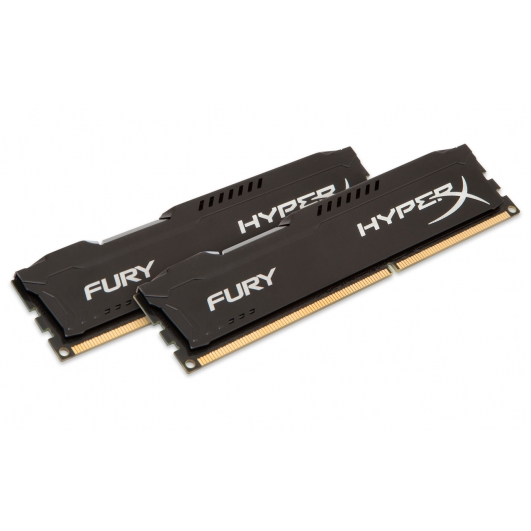 HyperX Fury HX318LC11FBK2/16 Black 16GB (8GB x2) DDR3L 1866Mhz Non ECC Memory RAM DIMM