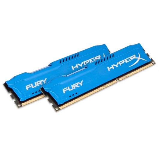 HyperX Fury Blue 16GB (8GB x2) DDR3 PC3-10600 1333MHz RAM Memory 1.5v CL9 DIMM