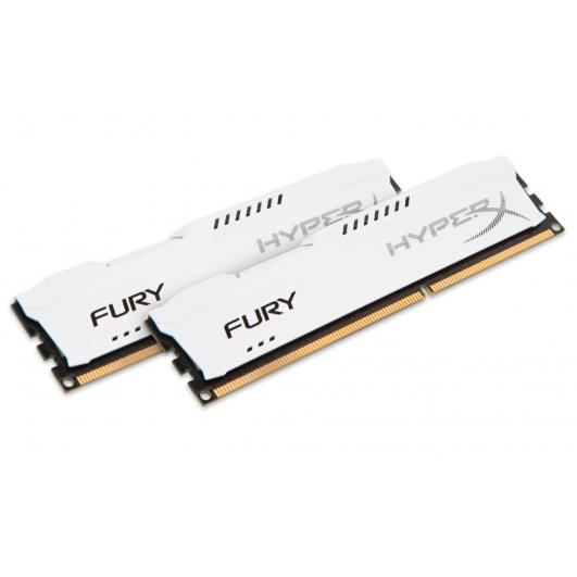 HyperX Fury White 16GB (8GB x2) DDR3 PC3-10600 1333MHz RAM Memory 1.5v CL9 DIMM