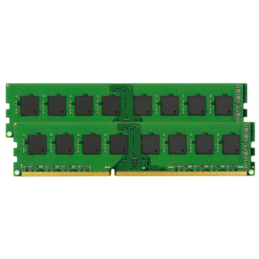 Kingston KVR1333D3E9SK2/16G 16GB Kit (8GB x2) DDR3 PC3-10600 1333MHz ECC Memory 1.5v CL9 DIMM