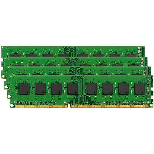 Kingston D1G72K110K4 32GB (8GB x4) Kit DDR3 1600MHz ECC Unbuffered Memory DIMM