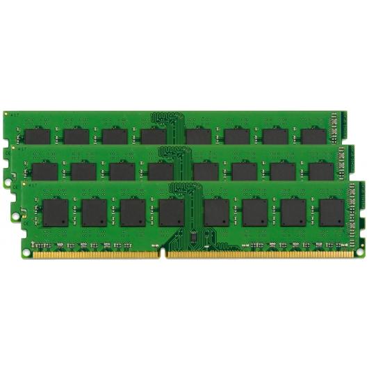 Kingston KVR16LR11D4K3/48I 48GB (16GB x3) Intel DDR3 PC3-12800 1600MHz Reg ECC Memory 1.35v CL11 DIMM